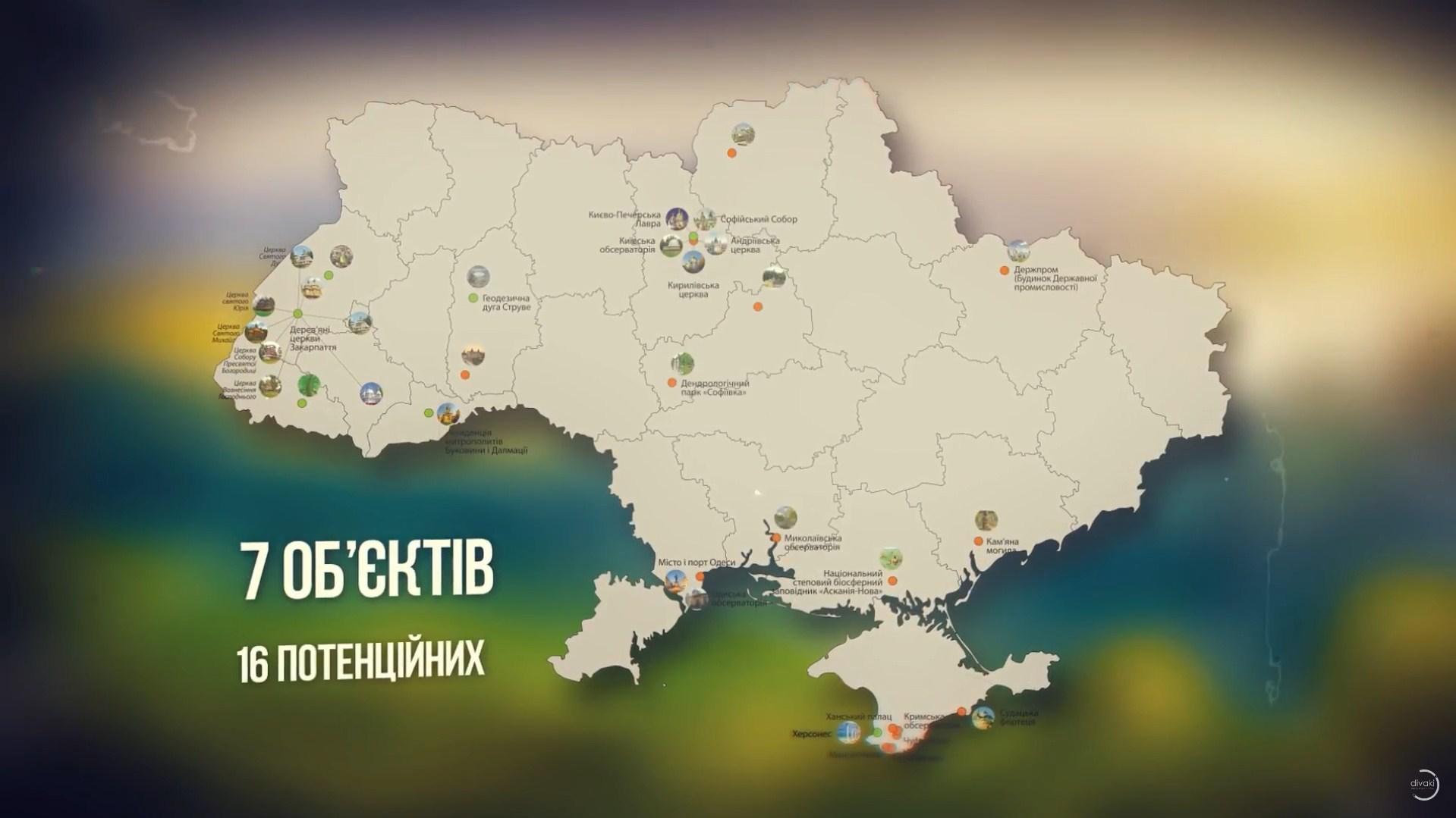 Об'єкти ЮНЕСКО в Україні